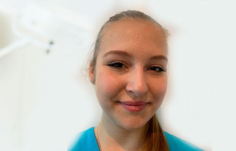 Celina Wendt<br>Auszubildende Med. Fachangestellte